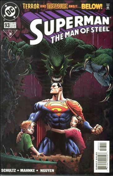 Superman: The Man of Steel 93-A by DC