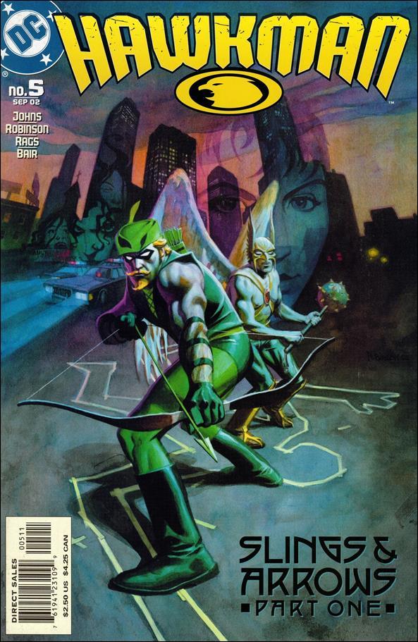 Hawkman (2002) 5-A by DC