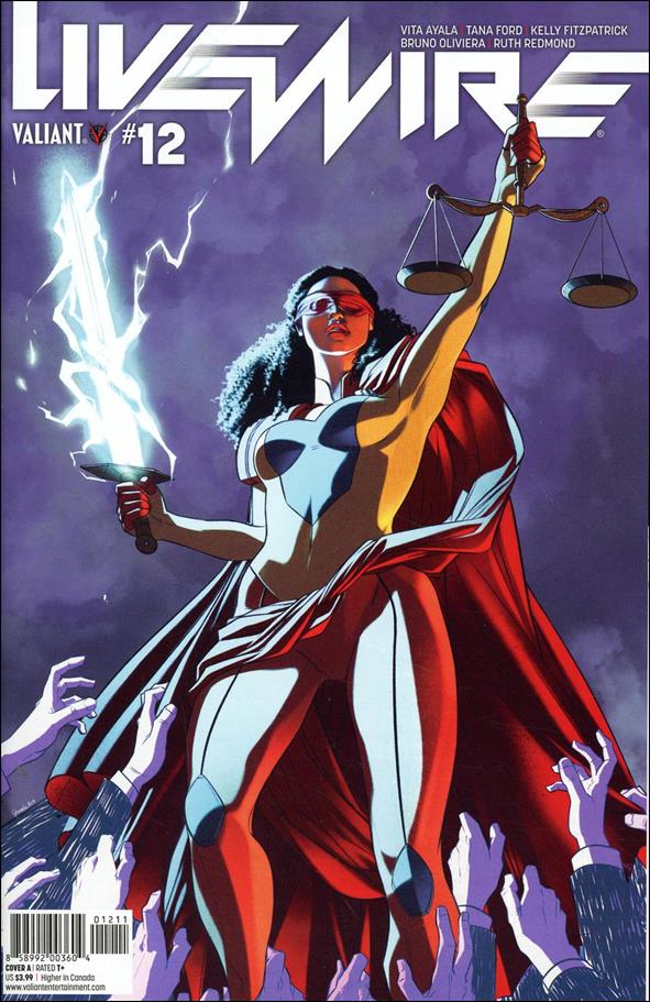 Livewire 12-A by Valiant Entertainment