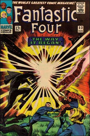 Fantastic Four (1961) 53-A by Marvel
