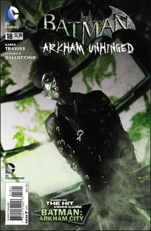 Batman: Arkham Unhinged 18-B