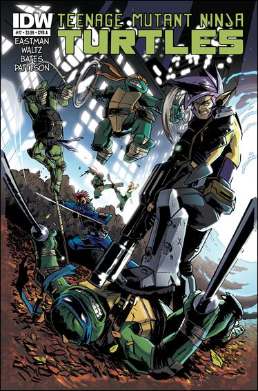 Teenage Mutant Ninja Turtles (2011) 17-A by IDW