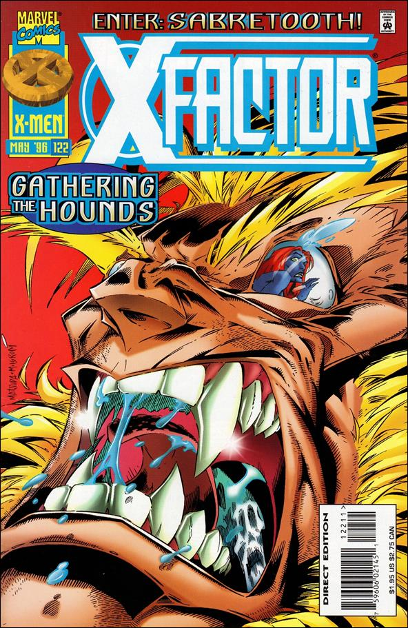X-Factor (1986) 122-A by Marvel