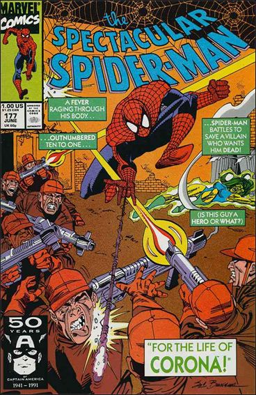 Spectacular Spider-Man (1976) 177-A by Marvel