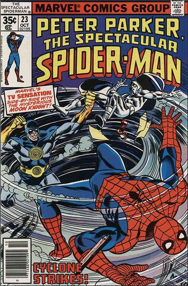 Spectacular Spider-Man (1976) 23-A by Marvel