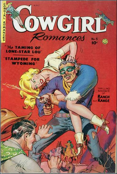 Cowgirl Romances (1950) [Fiction House] 5-A by Fiction House Magazines
