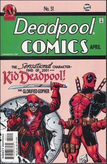 Deadpool (1997) 51-A by Marvel