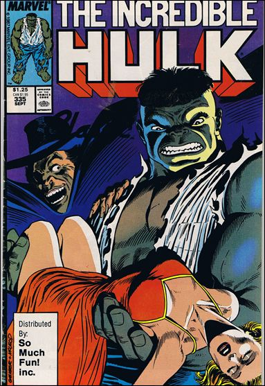 Incredible Hulk (1968) 335-B by Marvel
