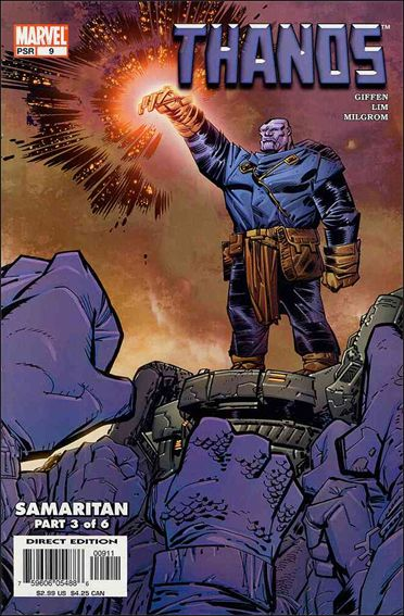 Thanos (2003) 9-A by Marvel