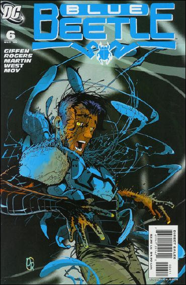 Blue Beetle (2006) 6-A by DC