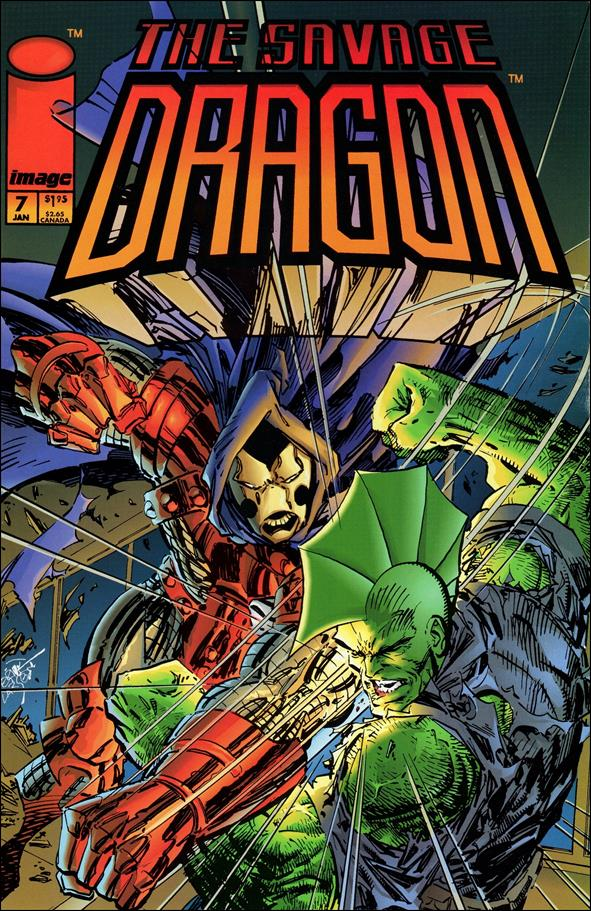 Savage Dragon (1993) 7-A by Image