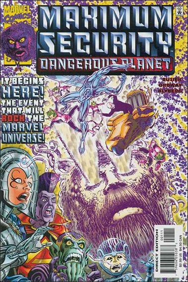 Maximum Security Dangerous Planet 1-A by Marvel