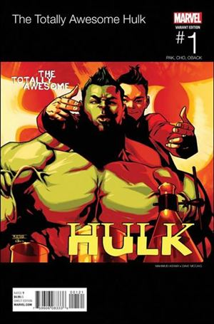 Totally Awesome Hulk 1-F