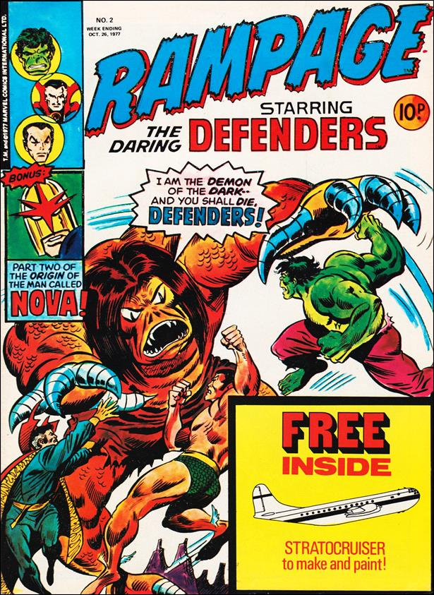 Rampage Weekly (UK) 2-A by Marvel UK