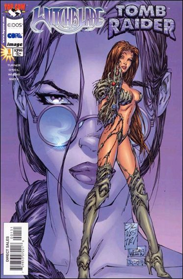 Witchblade/Tomb Raider 1-D by Top Cow
