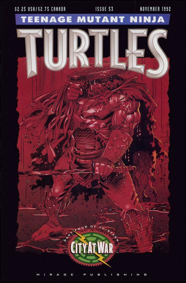 Teenage Mutant Ninja Turtles (1984) 53-A by Mirage