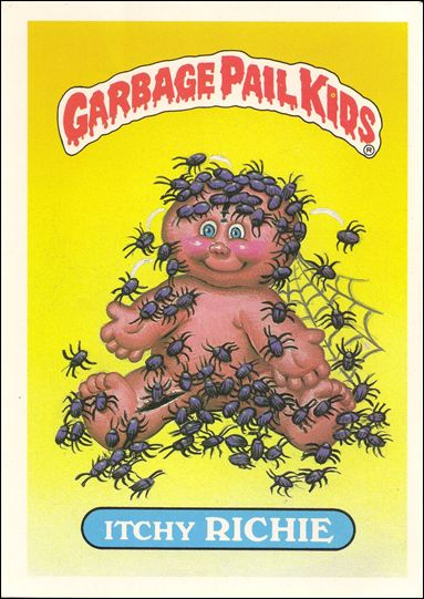 Garbage Pail Kids 1st Series Kids Giant Stickers (Base Set) 11-A by Topps