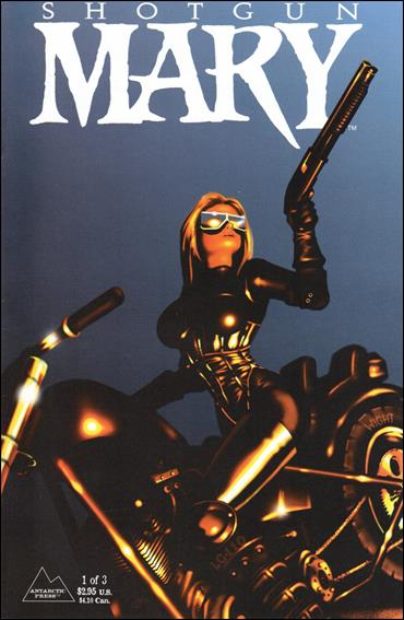 Shotgun Mary (1995) 1-A by Antarctic Press