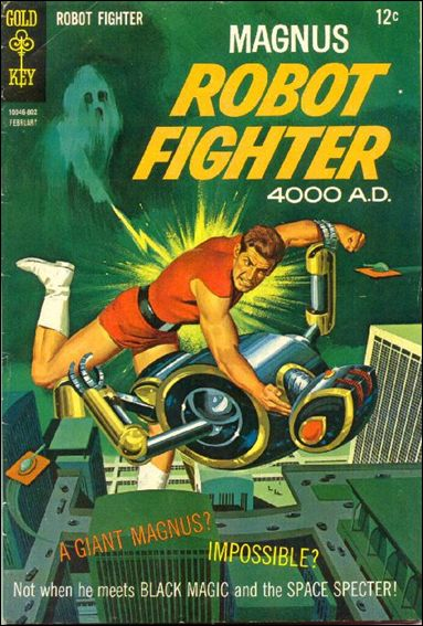 Magnus, Robot Fighter (1963) 21-A by Gold Key