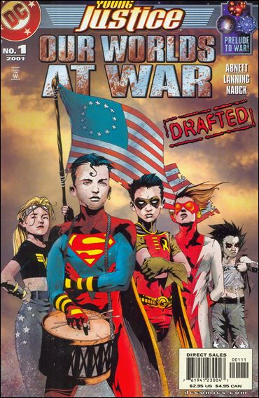 Young Justice: Our Worlds at War 1-A by DC