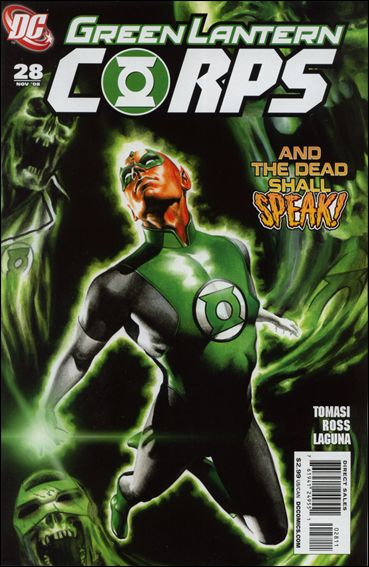 Green Lantern Corps (2006) 28-A by DC