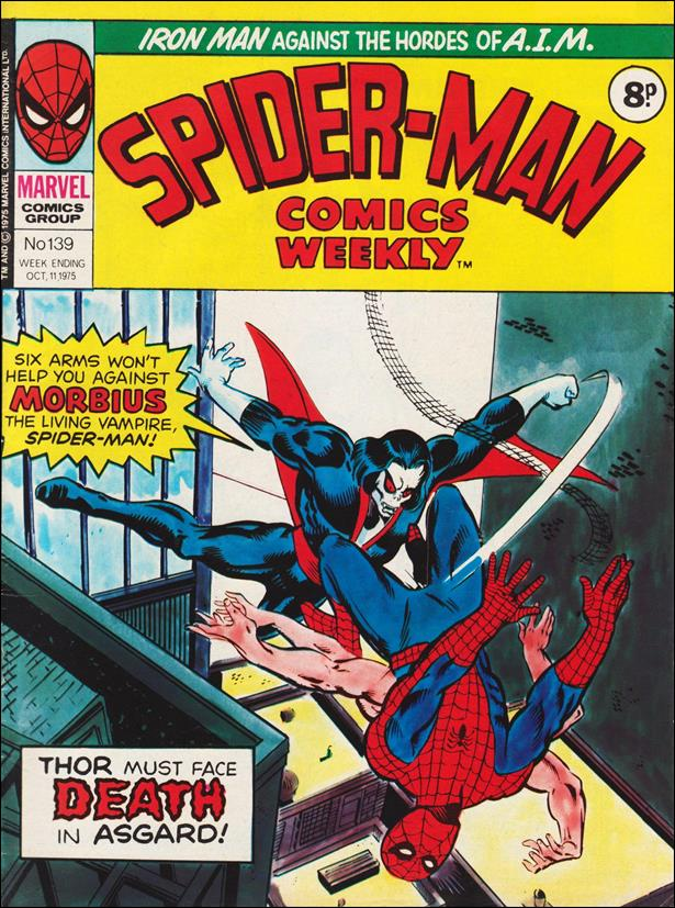 Spider-Man: Comics Weekly (UK) 139-A by Marvel UK
