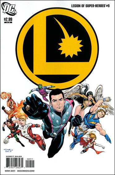 Legion of Super-Heroes (2010) 9-A by DC