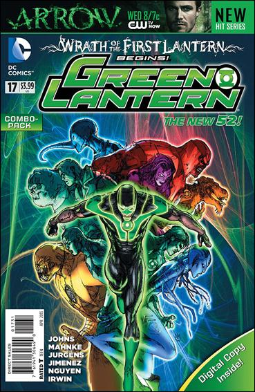 Green Lantern (2011) 17-B by DC