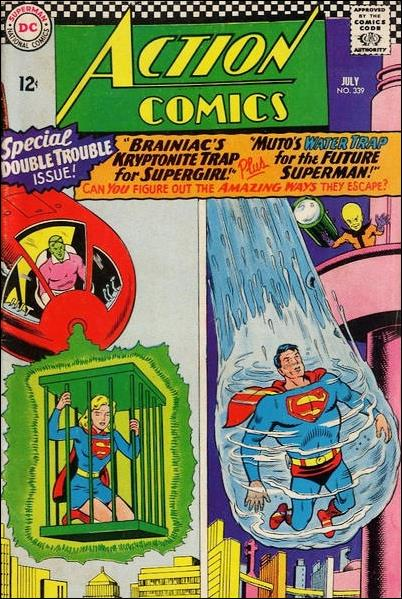 Action Comics (1938) 339-A by DC