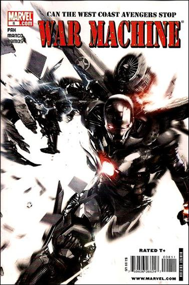 War Machine (2009) 8-A by Marvel