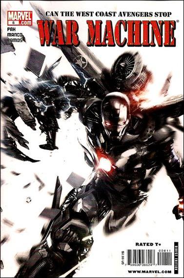 War Machine (2009) 8-A by Marvel