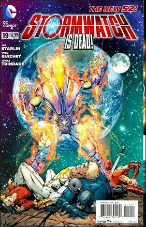 StormWatch (2011) 19-A by DC