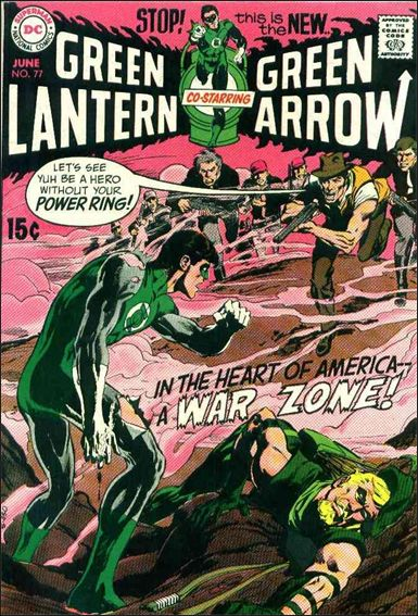 Green Lantern (1960) 77-A by DC