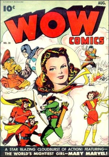 Wow Comics (1940) 28-A by Fawcett