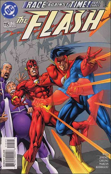 Flash (1987) 115-A by DC
