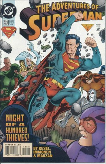 Adventures of Superman (1987) 520-A by DC