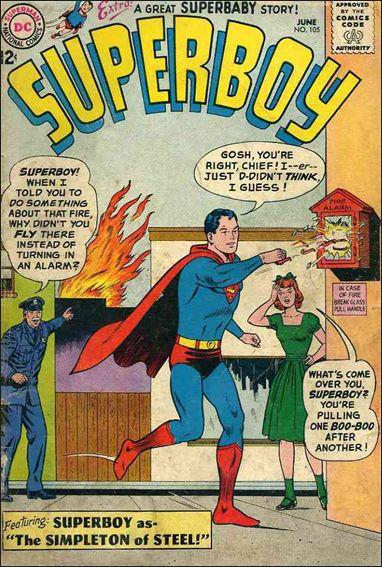 Superboy (1949) 105-A by DC