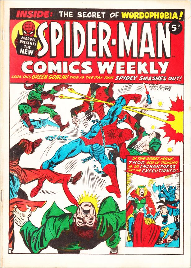 Spider-Man: Comics Weekly (UK) 21-A by Marvel UK
