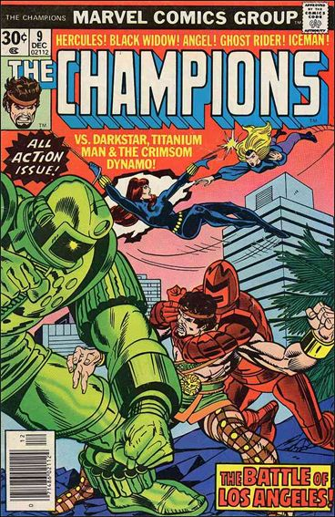 Champions (1975) 9-A by Marvel