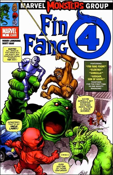 Marvel Monsters: Fin Fang Four 1-A by Marvel