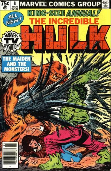 Incredible Hulk Annual  8-A by Marvel