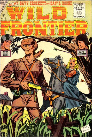 Wild Frontier (1955) 3-A by Charlton