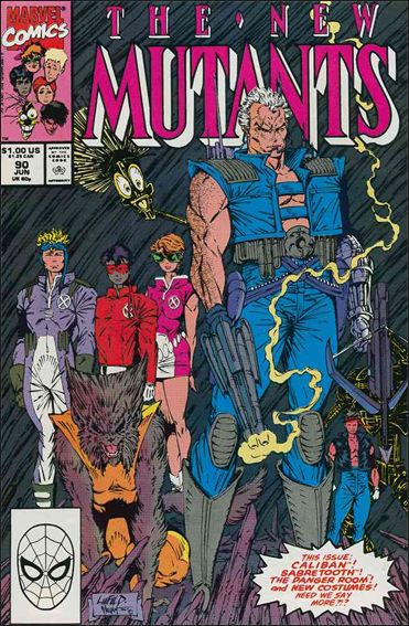 New Mutants (1983) 90-A by Marvel