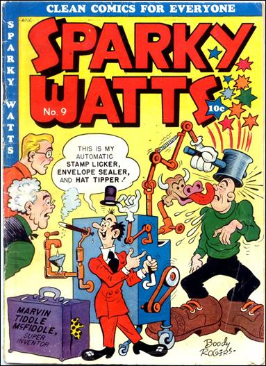 Sparky Watts 9-A by Publication Enterprises