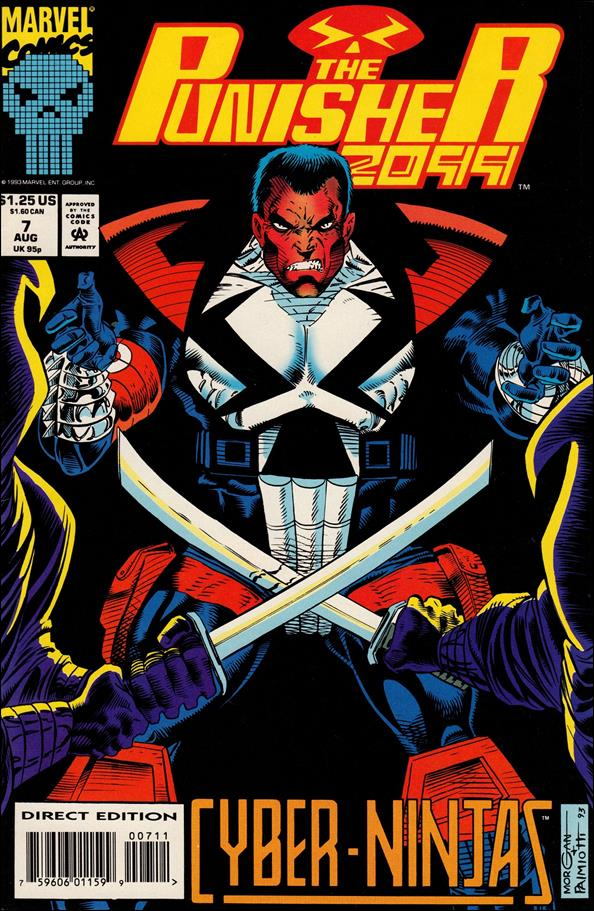 Punisher 2099 (1993) 7-A by Marvel
