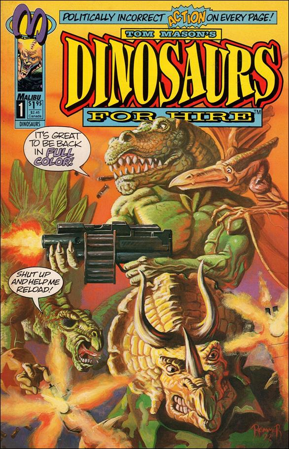 Dinosaurs for Hire (1993) 1-A by Malibu
