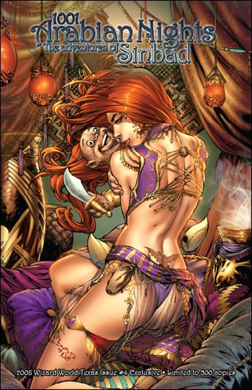 1001 Arabian Nights: The Adventures of Sinbad 4-A by Zenescope Entertainment