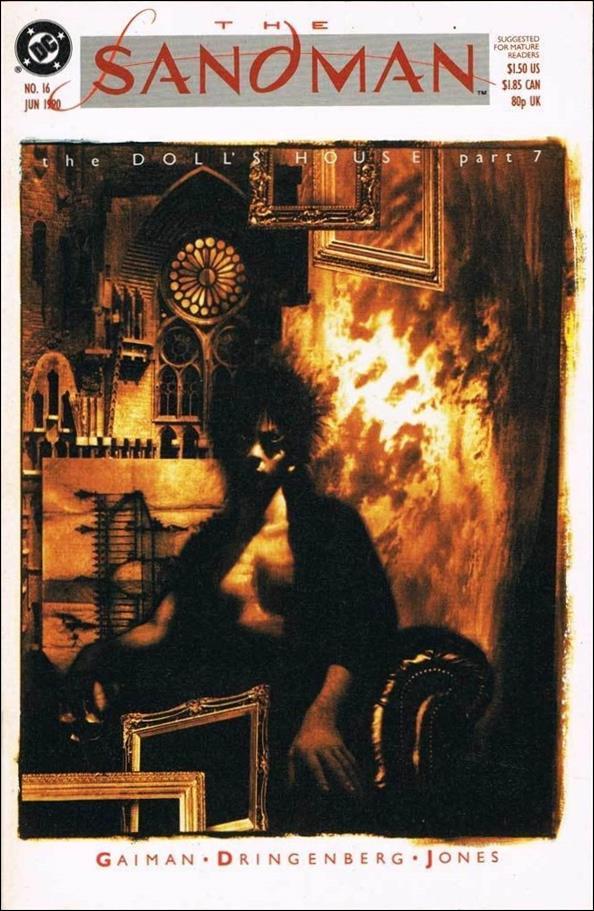 Sandman (1989) 16-A by Vertigo