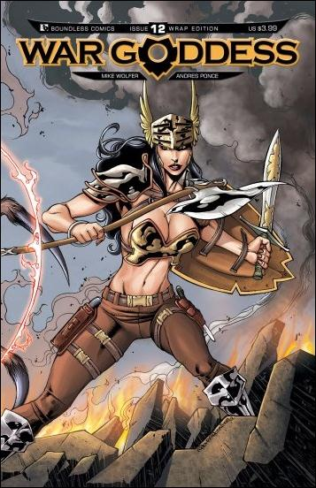 War Goddess 12-B by Boundless Comics