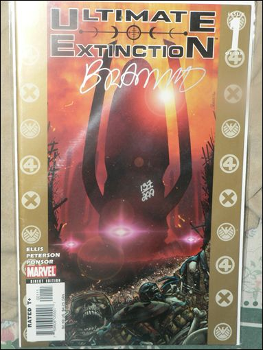 Ultimate Extinction 1-C by Marvel